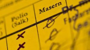 Sieben Prozent der Schulanfänger ohne ausreichenden Schutz gegen Masern