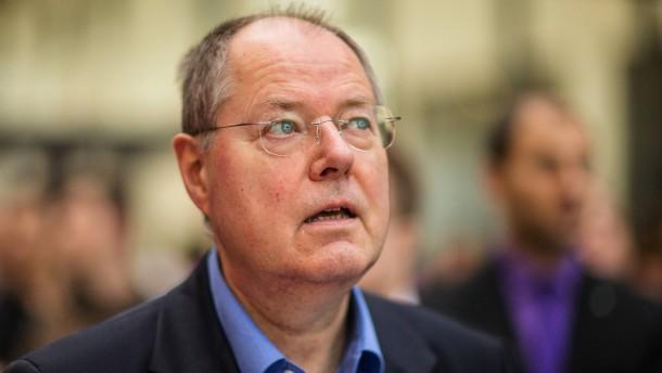 Bürgerkonvent SPD SPD-Kanzlerkandidat Peer Steinbrück