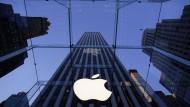 Apples Börsenwert überschritt in dieser Woche die Marke von einer Billion Euro.