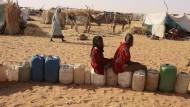Flüchtlingscamp im Sudan