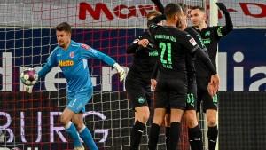 Fürth auf dem Relegationsrang zur Bundesliga