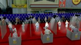Virensicherer roter Teppich für Hollywood