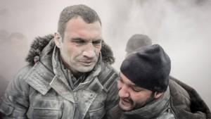 Auch Vitali Klitschko ist angeschlagen