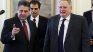 Gabriel will an Dialog mit der Türkei festhalten
