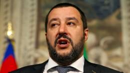 Salvini will Hafensperre für alle Bootsflüchtlinge
