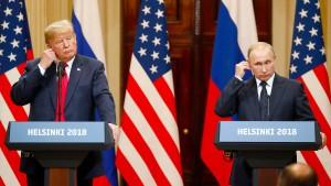 Trump wütet, Putin profitiert