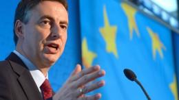 McAllister warnt vor russischem und türkischem Einfluss auf dem Westbalkan