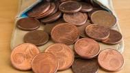 Italien schafft 1- und 2-Cent-Münzen ab