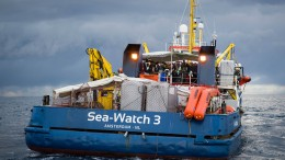 Lage auf blockierten Schiffen im Mittelmeer kritisch