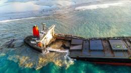 Frachter vor Mauritius auseinandergebrochen