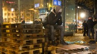 Polizei räumt Protestcamp von Flüchtlingen