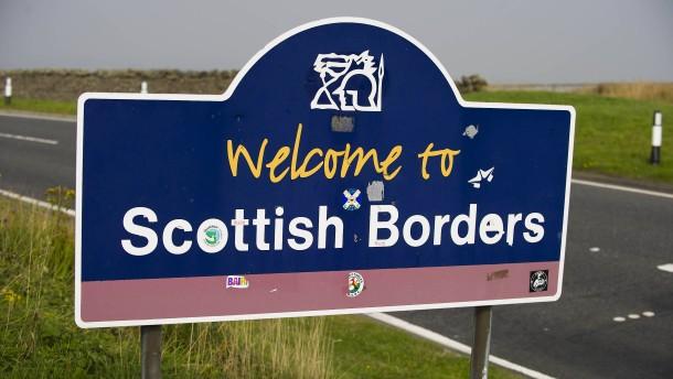 Schotten sehen ihre Zukunft in der EU