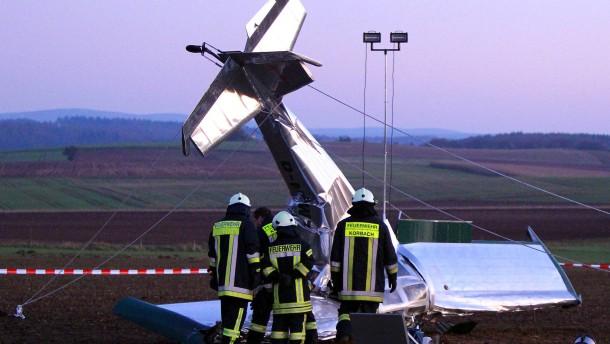 Absturz von Ultraleichtflugzeug gibt Rätsel auf