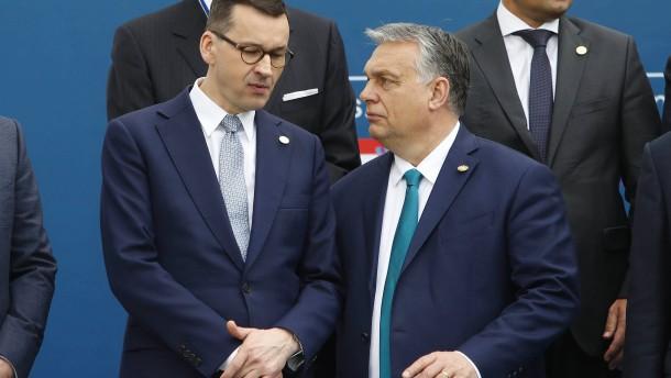 EU setzt Polen und Ungarn letzte Frist