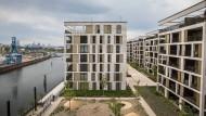 Wohnungen in Offenbach mit Blick auf Frankfurt