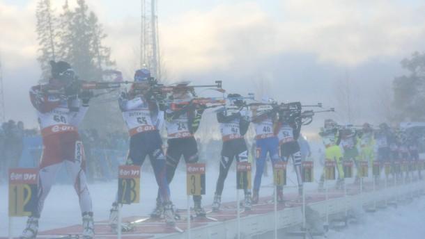 Biathlon-Verfolgung fällt aus