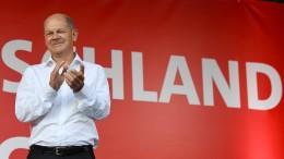 SPD baut Vorsprung vor der Union aus