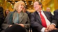 Zwei, die Ministerpräsident werden wollen: Kraft und Laschet