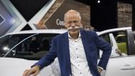 """Daimler-Chef Dieter Zetsche: """"Da hieß es vor einiger Zeit noch, die Chinesen klauen und kopieren. Das ist Unsinn."""""""