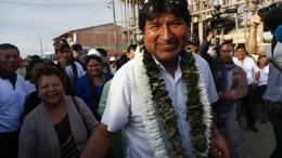 Morales muss in die Stichwahl