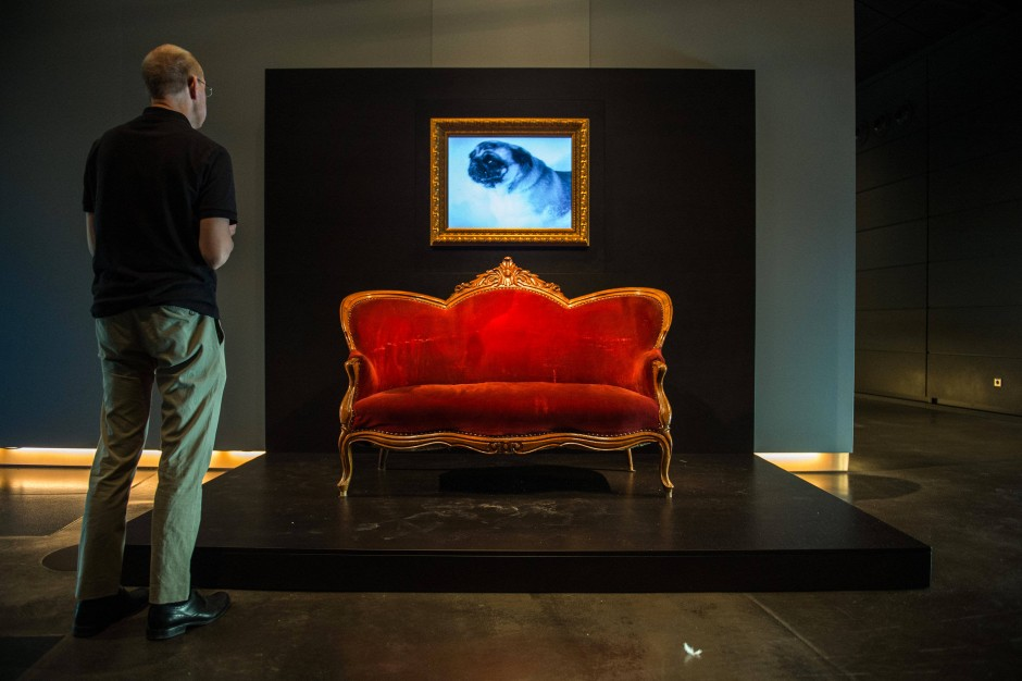 loriots sofa vom sofa aus humorgeschichte geschrieben menschen faz. Black Bedroom Furniture Sets. Home Design Ideas