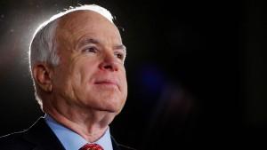 Republikaner hoffen auf McCains Stimme