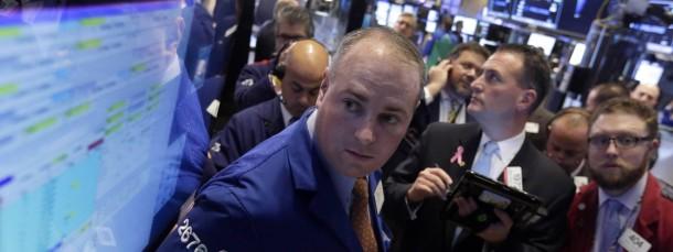 Trader an der New Yorker Börse: Steigen die Aktienwerte weiter?