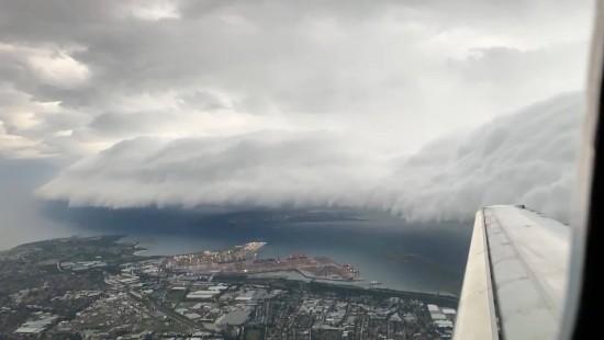 Extreme Wetterbedingungen sorgen für unglaubliche Bilder