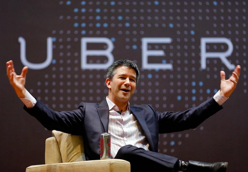 Dreht ein großes Rad: Uber-Chef Travis Kalanick.