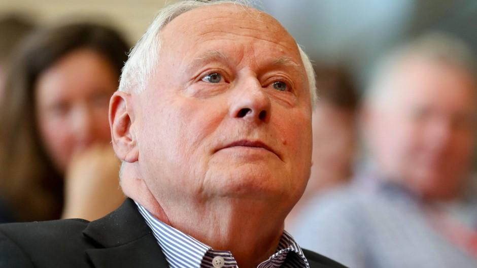 Ist gegen deutsche Tornado-Aufklärungsflüge über Syrien: der saarländische Fraktionsvorsitzende der Linkspartei Oskar Lafontaine