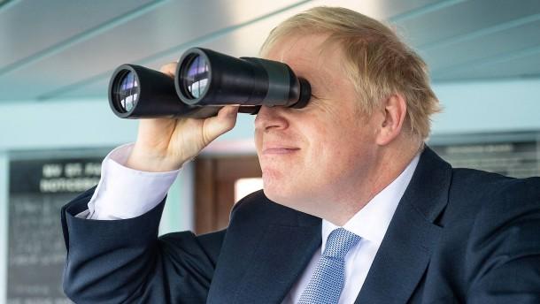 Johnson plant Brücke zwischen Schottland und Nordirland