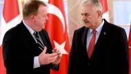 Dänemark lädt türkischen Ministerpräsidenten Yildirim aus