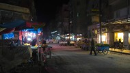 Ein Markt im syrischen Aleppo am Freitagabend, kurz vor der vereinbarten Waffenruhe
