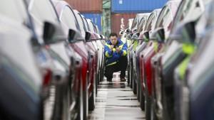1600 Teslas stecken in Chinas Zoll fest