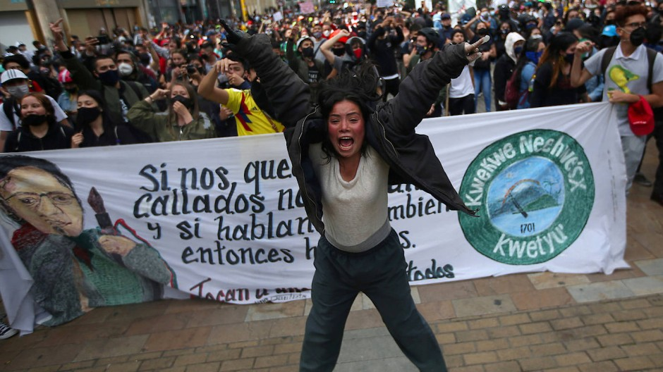 Warum in Kolumbien die Proteste gegen Polizeigewalt eskalieren