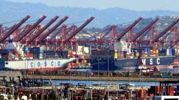US-Handelsdefizit steigt auf Rekordhoch