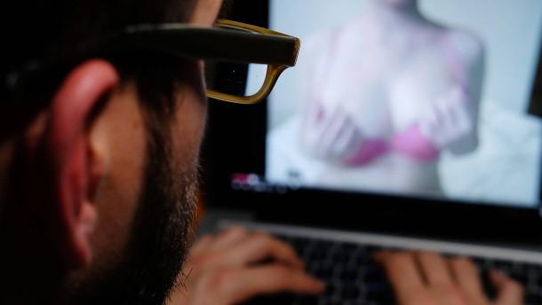 Auf Nachrichtenseiten erscheinen plötzlich Pornofilme