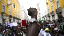 Proteste gegen Rassismus in Lissabon