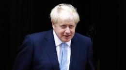 Johnson pocht auf Brexit im Oktober
