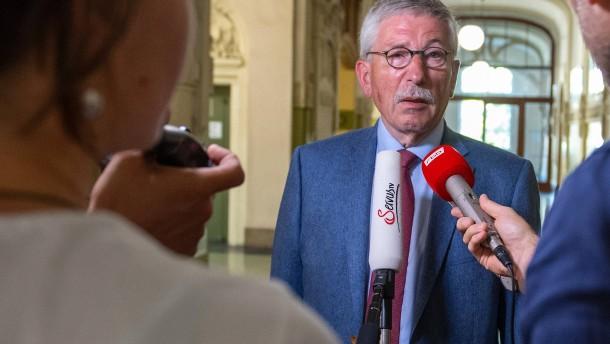 Sarrazin will Rauswurf aus SPD verhindern