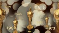 Die Oscars von 1929 bis heute