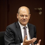 """""""Die Leserinnen und Leser der F.A.Z. dürfen sich darauf verlassen, dass wir ein klug durchgerechnetes Konzept für das solidarische Bürgergeld präsentieren werden."""": Bundesfinanzminister Olaf Scholz im Gespräch"""