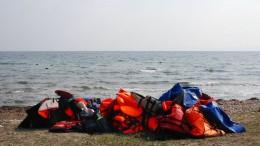 16 Flüchtlinge vor Ertrinken gerettet