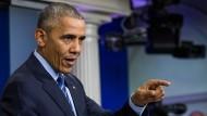 Obama: Russland verantwortlich für Cyberangriffe