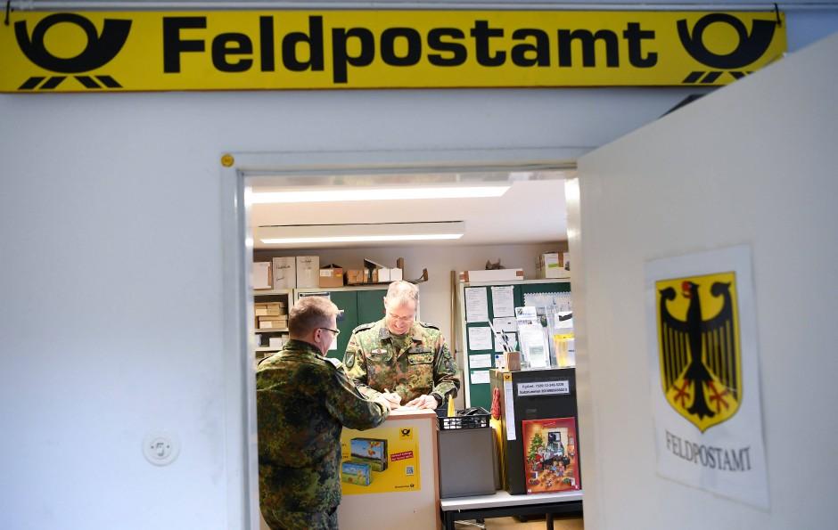 Ab die Post: Die Feldpostleitstelle der Bundeswehr in Pfungstadt