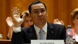 Ministerpräsident Ponta übersteht Misstrauensvotum