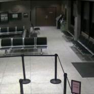 Szene aus dem von der Polizei veröffentlichten Video aus der Polizeiwache in Longview