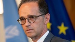 Maas schaltet sich in Streit zwischen Amerika und Türkei ein