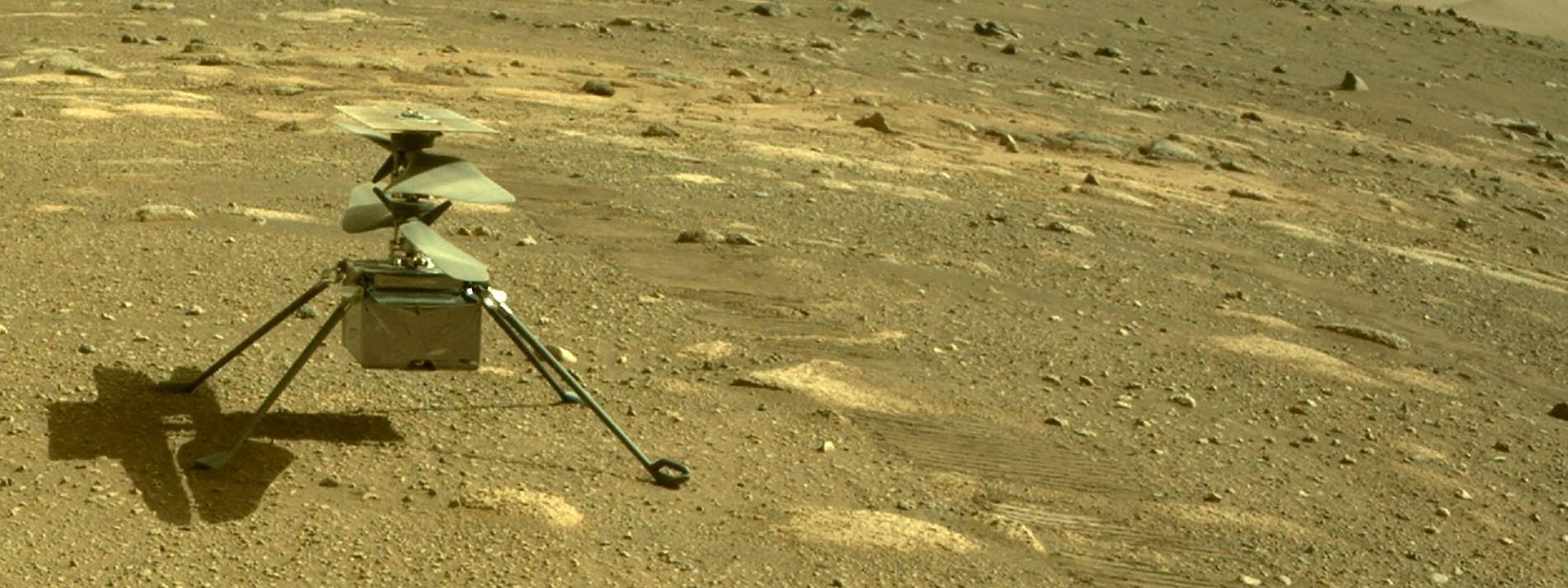 Erster Hubschrauberflug über Mars verschoben