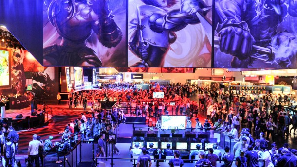 Impressionen von der gamescom 2013. Stand: League of Legends, Halle 8